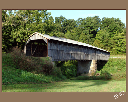 Beech Grove Covered Bridge -- Beech Fork Covered Bridge located near Mooreville in Washington County, KY